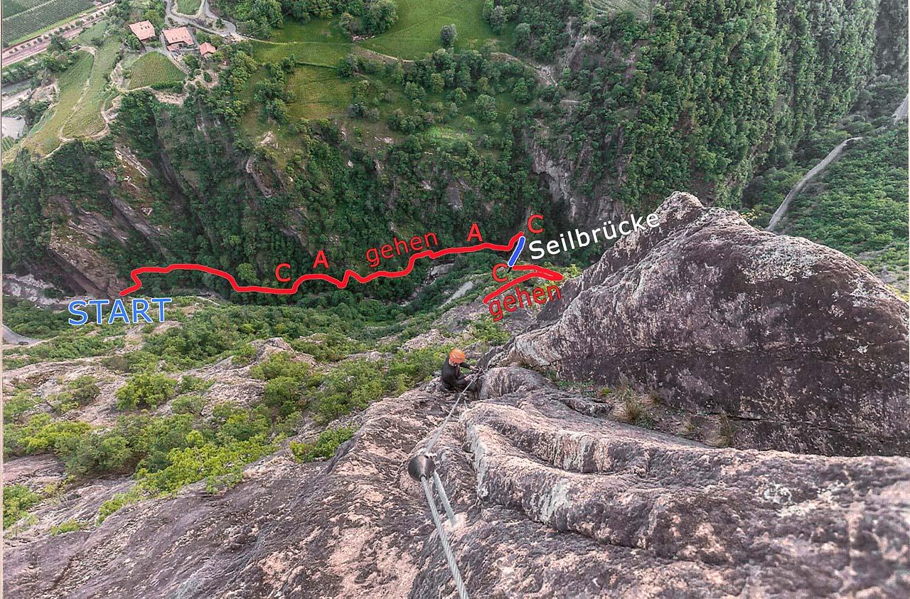 Klettersteig Naturns : Hoachwool klettersteig naturns in der reinhold messners nachbarschaft