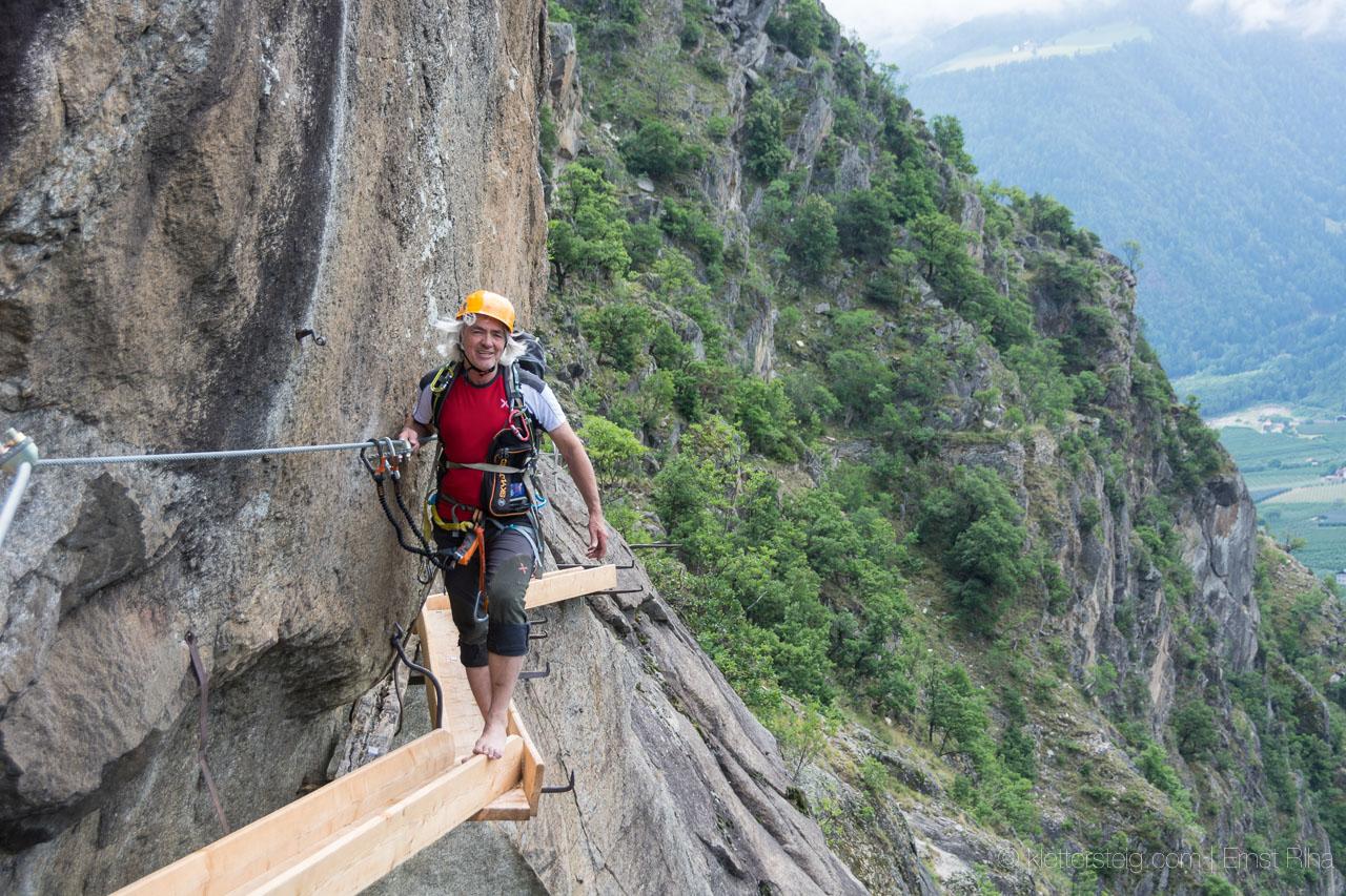 Klettersteig Naturns : Erstbegehung juni 2014 hoachwool klettersteig naturns